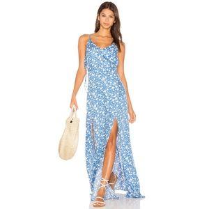 capulet blue floral kena v-neck maxi summer dress 22adbcb51